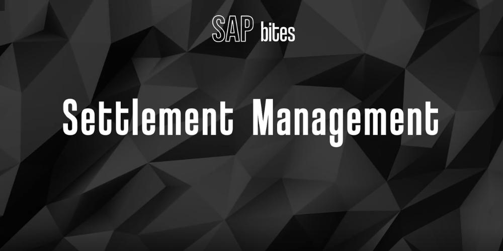 settlement management